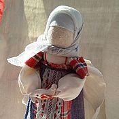 """Народная кукла ручной работы. Ярмарка Мастеров - ручная работа Тряпичная кукла в народной стилистике """"Ангел с птицей"""". Handmade."""