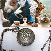 """Украшения ручной работы. Ярмарка Мастеров - ручная работа Часы карманные """"Наруто"""". Handmade."""