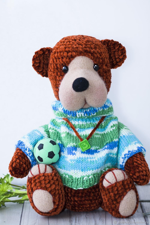Soft toys: bear Senya, Stuffed Toys, Moscow,  Фото №1
