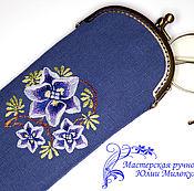 Сумки и аксессуары handmade. Livemaster - original item eyeglass case: Spectacle Case Of Lillaz. Handmade.