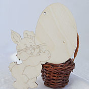 Материалы для творчества handmade. Livemaster - original item Easter bunny, blanks for painting. Handmade.