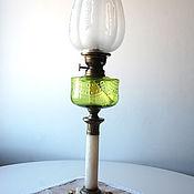 Антикварная керосиновая лампа Matador Branner