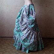 """Одежда ручной работы. Ярмарка Мастеров - ручная работа Юбка ярусная для трайбла """"Восточная принцесса"""". Handmade."""