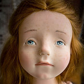 Куклы и игрушки ручной работы. Ярмарка Мастеров - ручная работа Абрикосовое мороженое. Handmade.