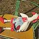 Куклы Тильды ручной работы. Два веселых гуся. Esterat. Ярмарка Мастеров. Подарок на день рождения, белый, игровая кукла