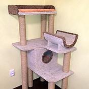"""Для домашних животных, ручной работы. Ярмарка Мастеров - ручная работа Комплекс для кошек  """"Гармония"""" (подходит крупным кошкам). Handmade."""