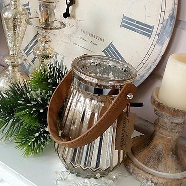 Для дома и интерьера ручной работы. Ярмарка Мастеров - ручная работа Ваза/подсвечник подвесной стекло. Handmade.