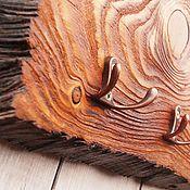 """Для дома и интерьера ручной работы. Ярмарка Мастеров - ручная работа Ключница """"Таинственная"""" ключница из дерева. Handmade."""