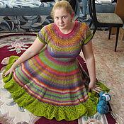 """Одежда ручной работы. Ярмарка Мастеров - ручная работа Платье  """"Радуга"""". Handmade."""