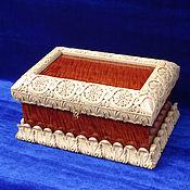 Для дома и интерьера handmade. Livemaster - original item Carved box, jewelry box, copernica.. Handmade.