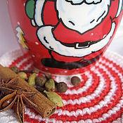 Подарки к праздникам ручной работы. Ярмарка Мастеров - ручная работа Подставки под кружки, набор 2шт, для чашки, под горячее, сувенир. Handmade.
