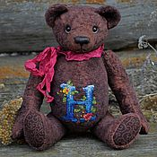 Куклы и игрушки handmade. Livemaster - original item Teddy Bears: Name bear N. Handmade.