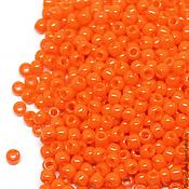 Материалы для творчества ручной работы. Ярмарка Мастеров - ручная работа Бисер ТОХО круглый 11/0 оранжевый непрозрач.., TOHO Beads 10гр. Handmade.