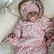 Куклы-младенцы и reborn ручной работы. Даша. Наталия Сомова (mireku). Ярмарка Мастеров. Кукла реборн, сили, глаза стекло
