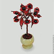 Фен-шуй и эзотерика handmade. Livemaster - original item The miniature tree of love shungite in a vase of onyx. Handmade.