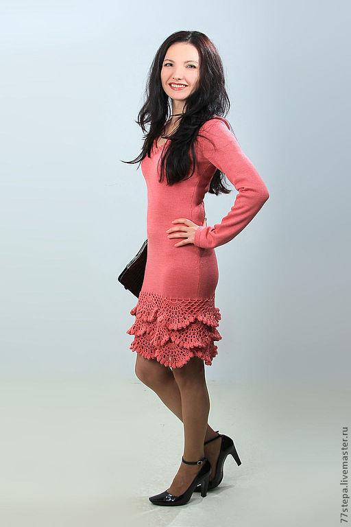 Платья ручной работы. Ярмарка Мастеров - ручная работа. Купить Платье вязаное 4478. Handmade. Платье, Платье нарядное