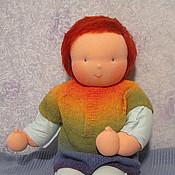 Вальдорфские куклы и звери ручной работы. Ярмарка Мастеров - ручная работа Вальдорфская кукла-младенец тяжелый 52 см. Handmade.