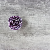 Украшения handmade. Livemaster - original item Violet felt brooch. Handmade.