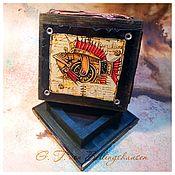 Сувениры и подарки handmade. Livemaster - original item Compass - cache