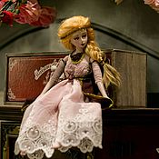Куклы и игрушки ручной работы. Ярмарка Мастеров - ручная работа Подвижная кукла. Handmade.