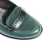 Обувь ручной работы. Ярмарка Мастеров - ручная работа Туфли кожаные Croci. Handmade.