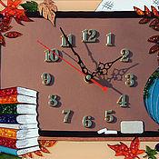 Для дома и интерьера ручной работы. Ярмарка Мастеров - ручная работа Часы ко Дню Учителя. Handmade.