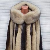 handmade. Livemaster - original item natrievaja coat. Handmade.