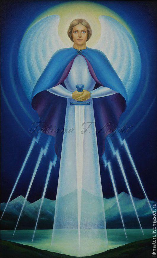 Символизм ручной работы. Ярмарка Мастеров - ручная работа. Купить Ангел Веры и Силы. Handmade. Ангел, ангел-хранитель, ангелы
