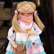 Куклы и игрушки ручной работы. Ярмарка Мастеров - ручная работа Девочка с крем-брюле. Кто из нас не любит мороженое? ))). Handmade.