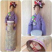 Куклы и игрушки ручной работы. Ярмарка Мастеров - ручная работа Тильда-хранительница палочек и дисков. Handmade.