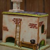 """Для дома и интерьера ручной работы. Ярмарка Мастеров - ручная работа Эксклюзивный чайный домик """"Печки Лавочки"""". Handmade."""