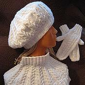 """Аксессуары ручной работы. Ярмарка Мастеров - ручная работа Комплект """"Белый шоколад"""". Handmade."""