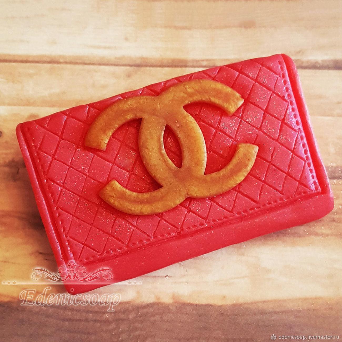 'Clutch ' soap gift souvenir March 8 handbag red, Soap, Moscow,  Фото №1