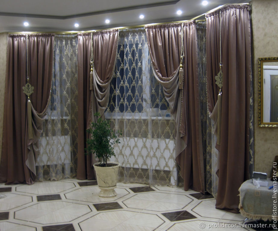 Curtains in the PREMIUM lounge', Curtains1, Moscow,  Фото №1