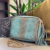 Сумки и аксессуары handmade. Livemaster - original item Bag made of Python skin Donna. Handmade.