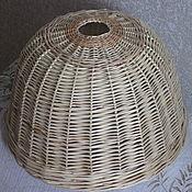Для дома и интерьера handmade. Livemaster - original item Lampshade wicker