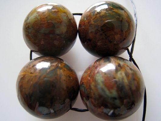 Для украшений ручной работы. Ярмарка Мастеров - ручная работа. Купить Африканские опалы. Бусины шары  16мм. Handmade. Камни