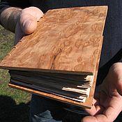 """Подарки к праздникам ручной работы. Ярмарка Мастеров - ручная работа Блокнот из дерева """"Корень"""". Handmade."""