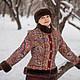"""Верхняя одежда ручной работы. Ярмарка Мастеров - ручная работа. Купить Зимнее пальто """"Губернаторское"""".. Handmade. Разноцветный, верхняя одежда"""