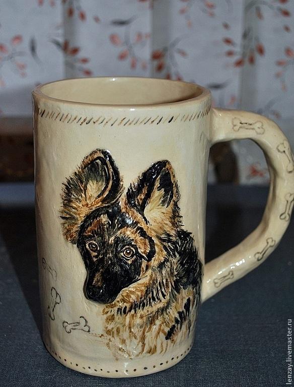 """Кружка """"Кот и Пес"""", Mugs and cups, Moscow,  Фото №1"""