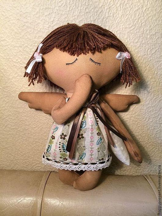 Сказочные персонажи ручной работы. Ярмарка Мастеров - ручная работа. Купить Ангел снов Сплюшка. Handmade. Бежевый, сонный ангел