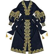 """Одежда handmade. Livemaster - original item Длинное платье """"Арабский Конь"""". Handmade."""