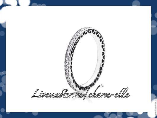 Кольца ручной работы. Ярмарка Мастеров - ручная работа. Купить 52,54,56 Кольцо из серебра с циркониями. Handmade. Серебряный