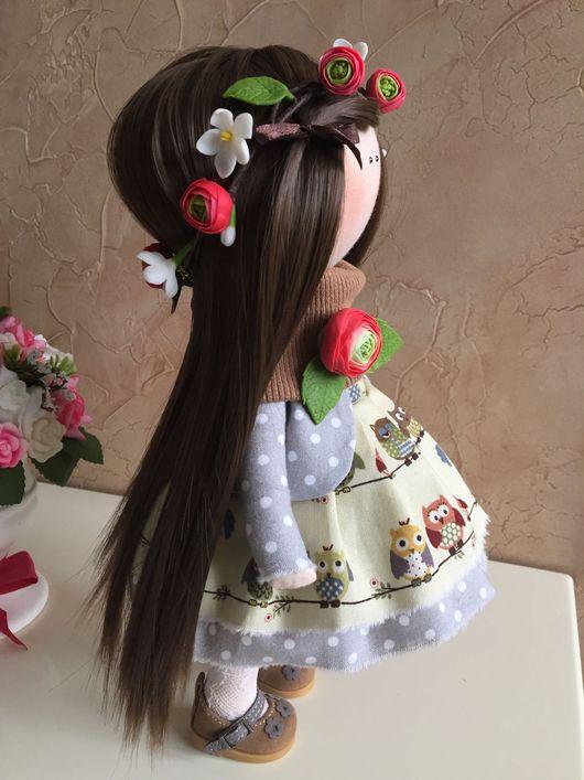 Куклы тыквоголовки ручной работы. Ярмарка Мастеров - ручная работа. Купить Куколка ростом 30 см. Handmade.