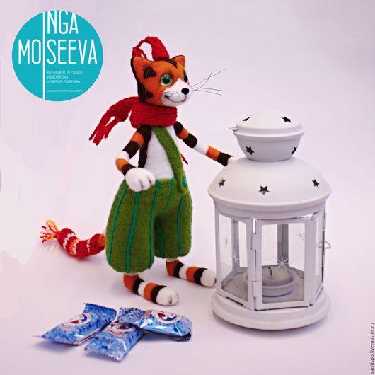 Игрушки животные, ручной работы. Ярмарка Мастеров - ручная работа. Купить Финдус, котик, как в мультфильме. Handmade. Ручная авторская работа