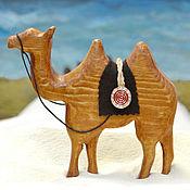 Для дома и интерьера ручной работы. Ярмарка Мастеров - ручная работа Деревянная фигурка Верблюд. Handmade.
