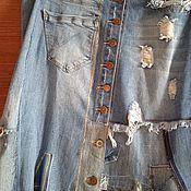 Одежда handmade. Livemaster - original item Skirts: Women`s Boho Style Skirt. Handmade.