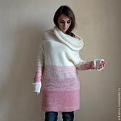 Одежда ручной работы. Ярмарка Мастеров - ручная работа Свитер в оттенках розового. Handmade.