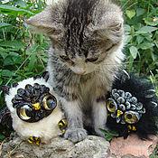 Куклы и игрушки ручной работы. Ярмарка Мастеров - ручная работа Черно-белые совы Инь-Ян. Handmade.