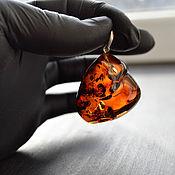 Украшения handmade. Livemaster - original item Pendant from Kaliningrad amber. Handmade.